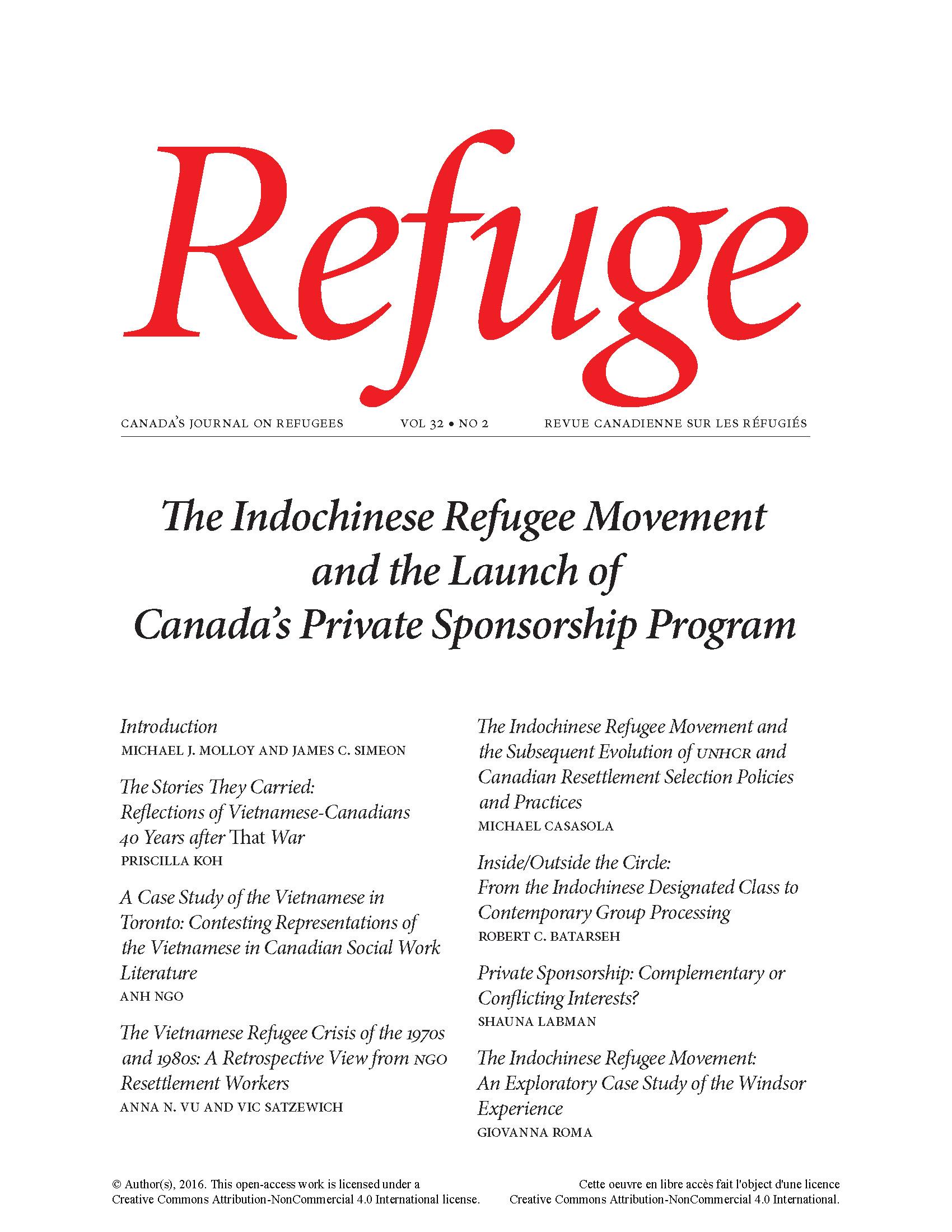cover Refuge 32.2 2016