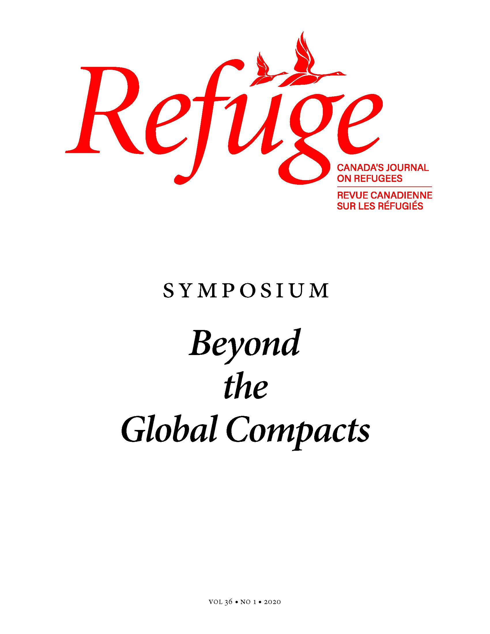 cover Refuge 36.1 2020
